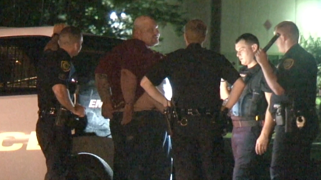 Perro policía logra arresto de hombre en fuga