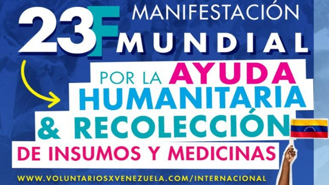 Este sábado 2 jornadas para ayudar a Venezuela en Houston