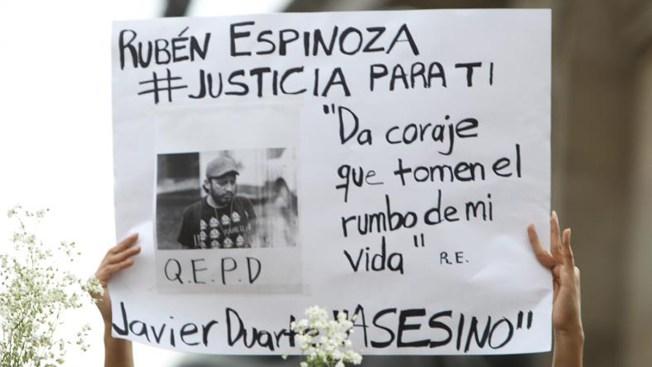 México: Preso expolicía por crimen de reportero