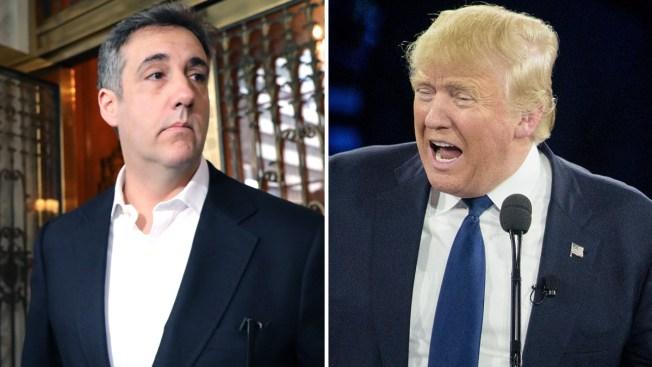 Documentos: Trump trató de frenar noticias sobre supuestos amoríos
