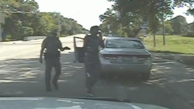 Difunden video del arresto de mujer ahorcada