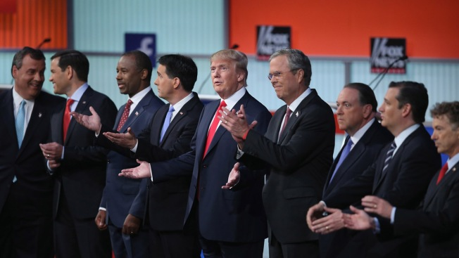 Republicanos se sacan chispas en primer debate