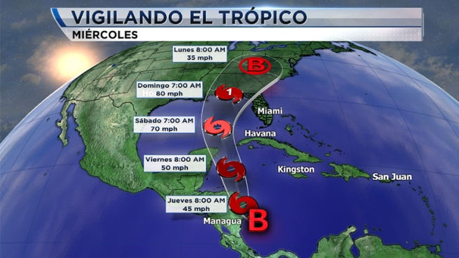 Advierten alta probabilidad de lluvias en Caribe colombiano por onda tropical