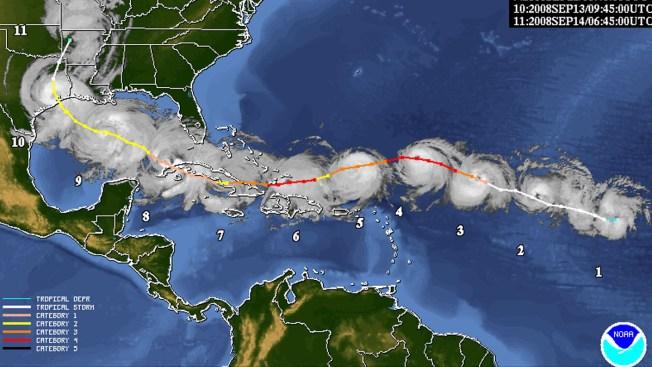 Poderoso huracán Ike tocó tierra en Galveston hace 9 años