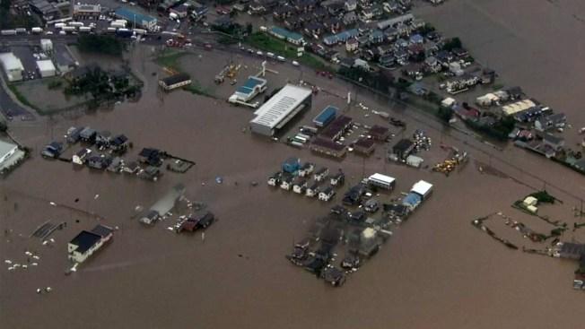 Japón enfrenta el día después del diluvio