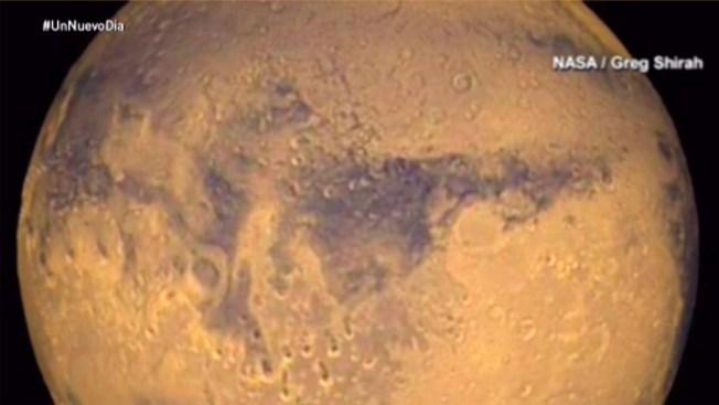 En Marte hay agua... y mucho más, dice experto