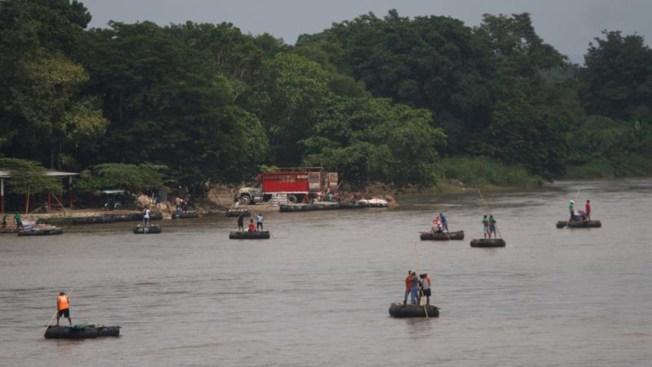 México recibe a la avanzada de caravana de migrantes