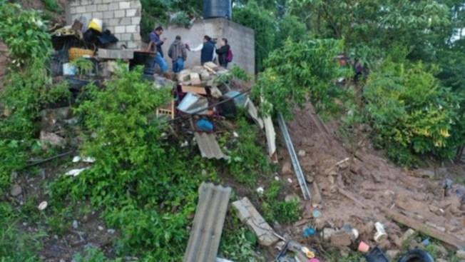 Alud sepulta vivienda: seis muertos y 11 heridos