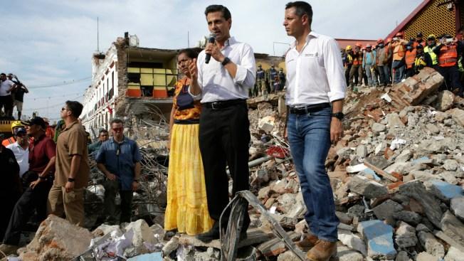 Aumenta a 90 el número de muertos por el terremoto en México