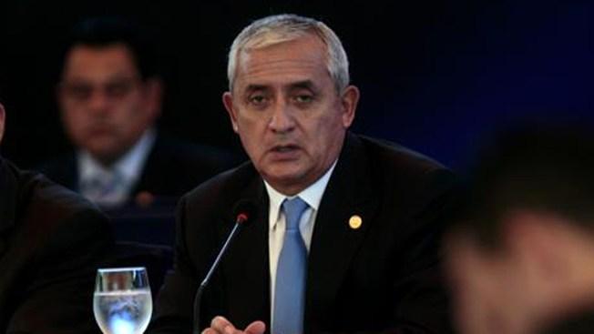 Presidente de Guatemala dice que no renuncia