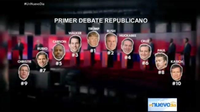 Donald Trump es el factor clave del debate