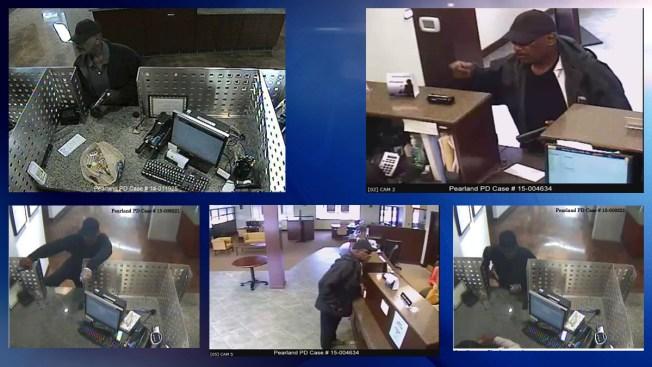 Buscan a sospechoso de robar 3 bancos en un año
