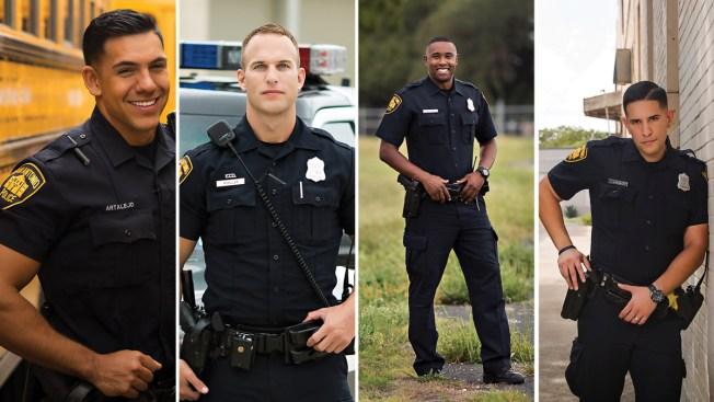Policías encienden pasiones con lanzamiento de calendario