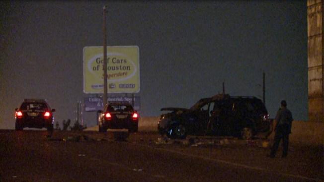 Accidente en la I-45 deja un muerto