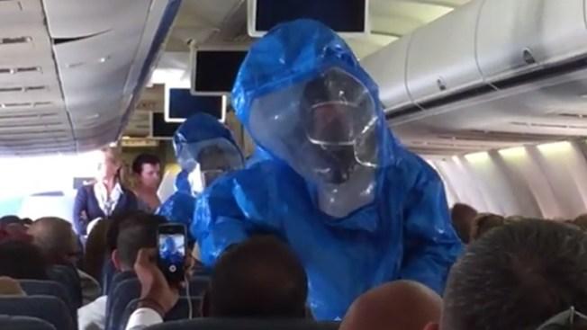 "Pasajero con ""ébola"" de regreso a casa"