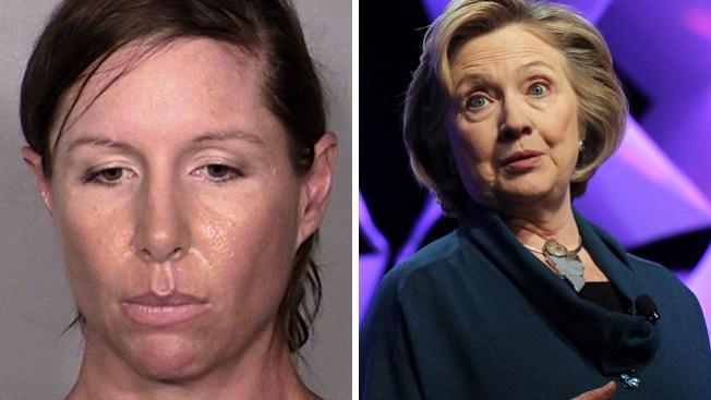 Liberada tras arrojar zapato a Clinton