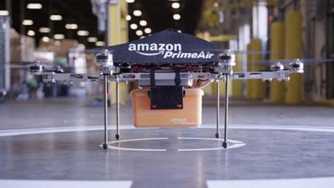 Amazon: los pedidos llegarán volando
