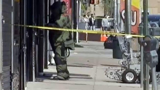 Falsa alarma de bomba en Houston