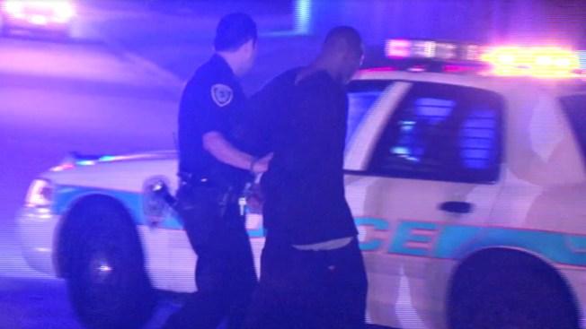 Balacera y persecución deja 3 arrestados