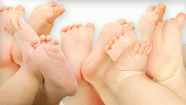 Nacen quintillizos en Dallas