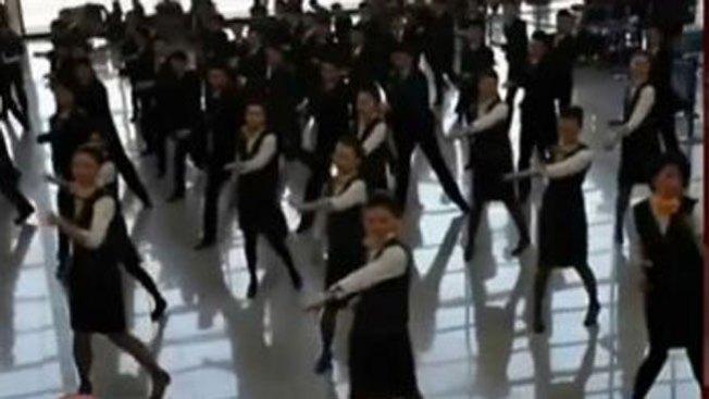 No creerás lo que hacen bailando así