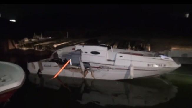 3 muertos deja choque en el lago Conroe
