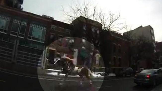 Escapa caballo en las calles de Chicago