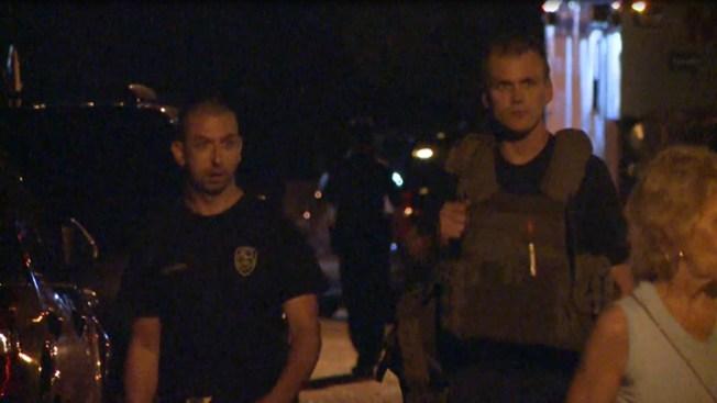 Pelea familiar genera caos policial