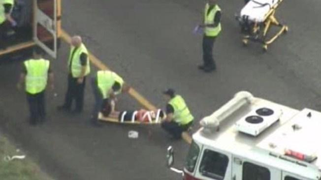 Seis heridos en choque con bus escolar