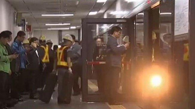 Otro accidente en Seúl: choque de trenes