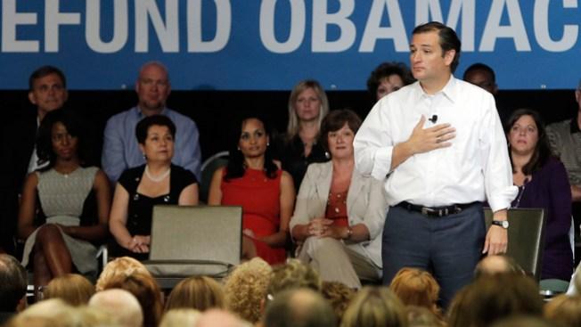 Ted Cruz habla de Obamacare en Texas