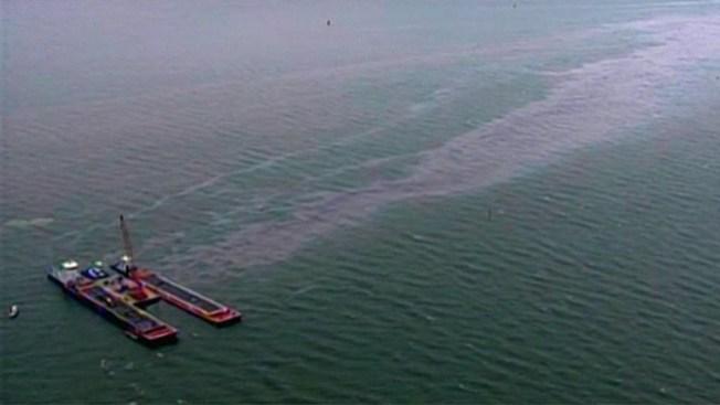 Alerta roja por derrame en Galveston