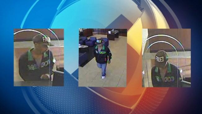 FBI busca sospechoso de asalto a banco