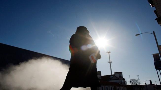 Sale el sol, pero sigue el frío