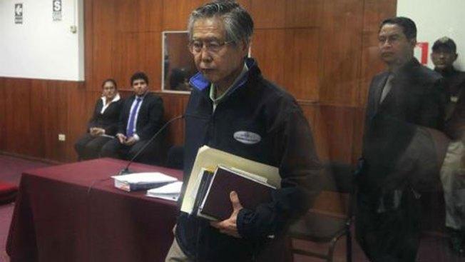 Fujimori: Rechazan segunda apelación