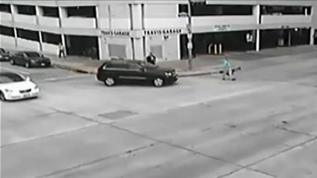 Jefe policial atropella a peatón
