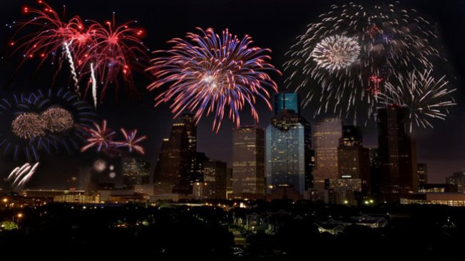 Celebra el 4 de julio en Houston