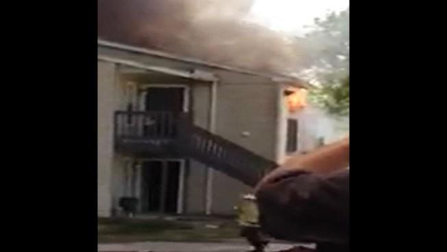 11 familias lo pierden todo en incendio