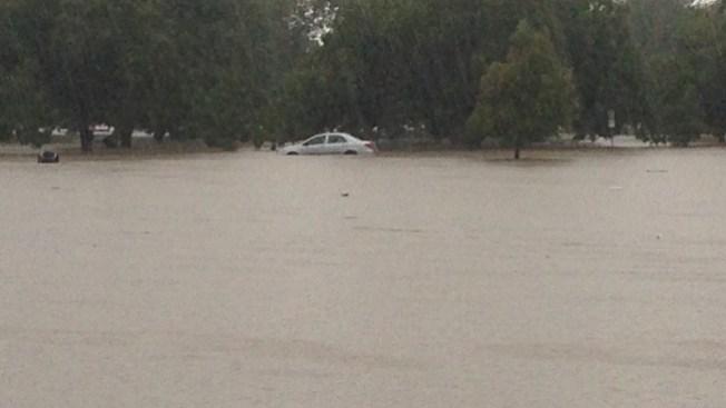 Posibles inundaciones hasta las 10 p.m.