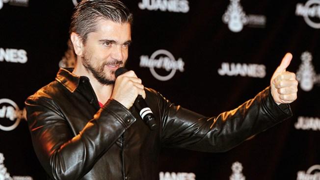 Juanes y Hard Rock en benéfica unión
