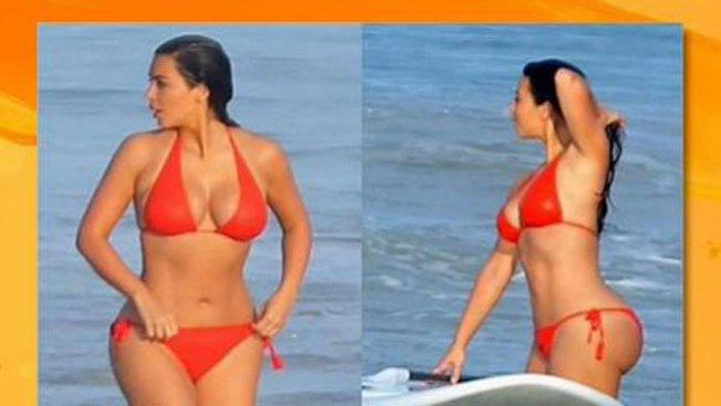 Kim Kardashian, sexy sirena del mar