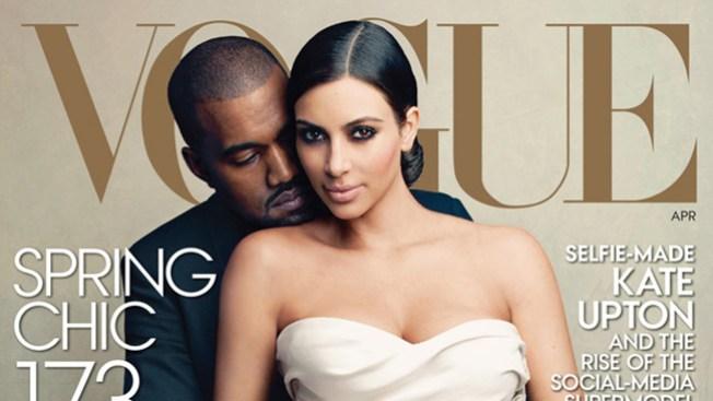 Kim Kardashian en la portada de Vogue