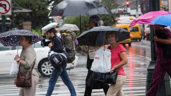 Aliste el paraguas, lluvias y más lluvias
