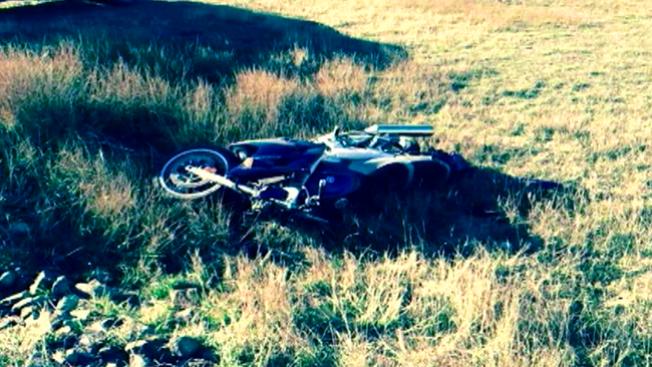 Video: Ciervo causa accidente de moto