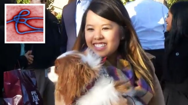 Nina Pham se reúne con su perro