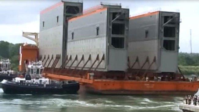 Avanza ampliación del Canal de Panamá