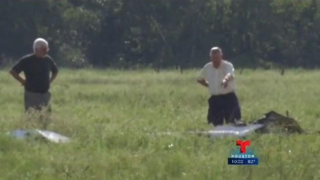 Muere piloto de 67 años al caer su avión