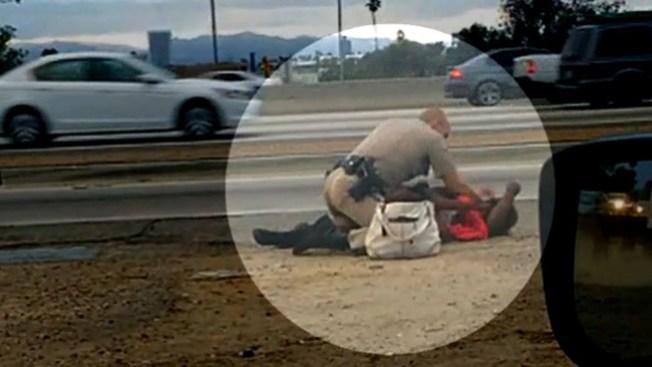 Policía golpea brutalmente a mujer