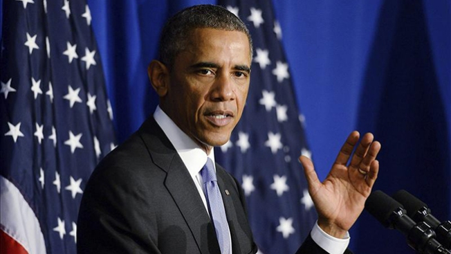 La reacción de Obama ante abucheos