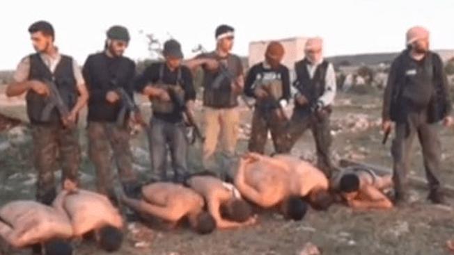 Video sobre ejecución de soldados sirios